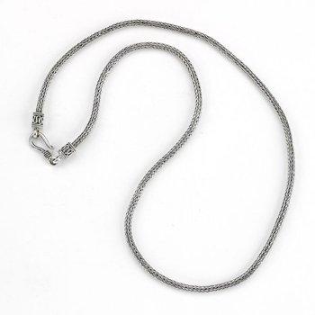 Silver 20 Inch Tulang Naga Chain