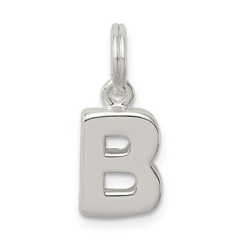 Sterling Silver B Dangle Charm