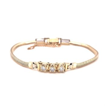 Diamond Add-A-Link Starter Tennis Bracelet