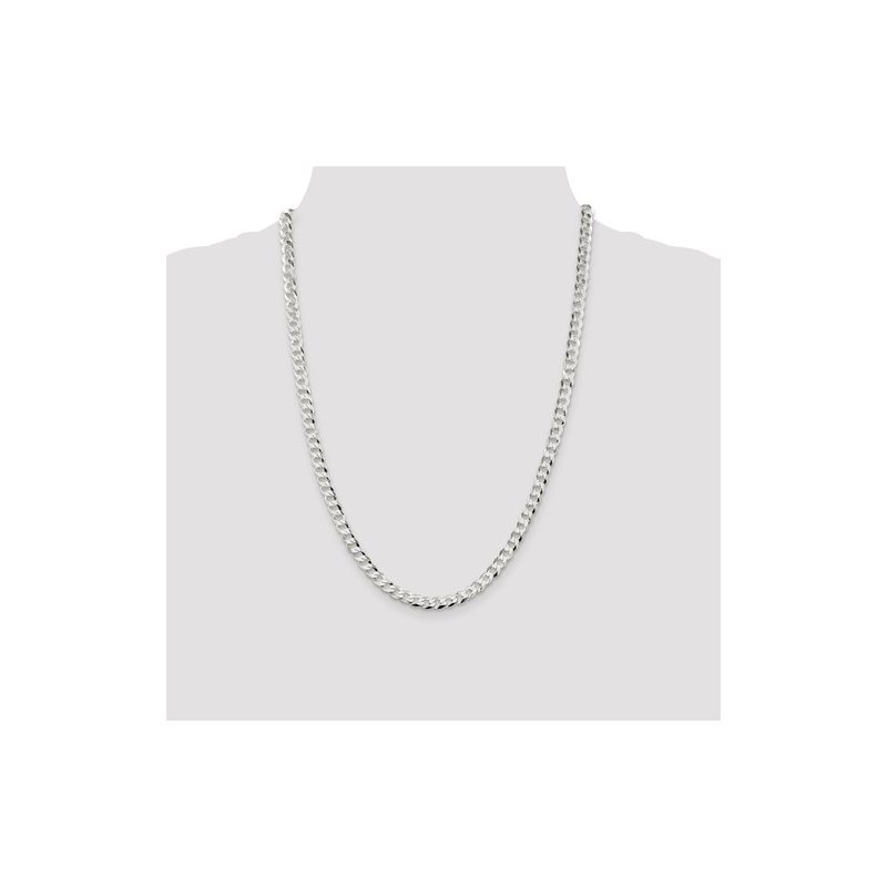 Murphy Pitard Signature Collection Flat Curb 5.75 Millimeter Chain