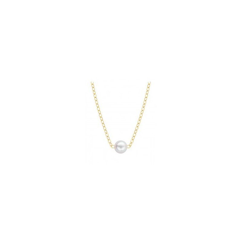 Murphy Pitard Signature Collection Akoya Cultured Pearl Add-A-Pearl Necklace
