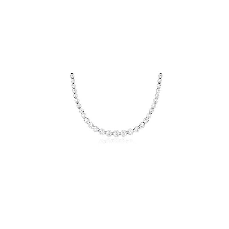 Murphy Pitard Signature Collection Diamond Tennis Necklace