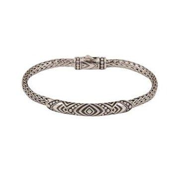 Woven Tribal Bar Bracelet
