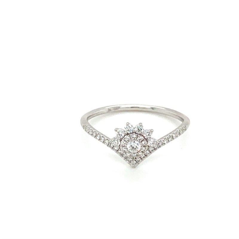 Shy Creation Diamond Eden Collin Tiara Ring