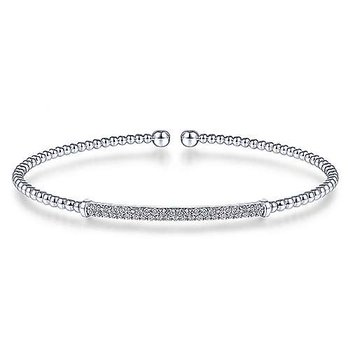 Split Cuff Diamond Bracelet