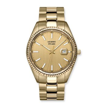 MPJ Yellow Stainless Steel 43 Millimeter Dress Watch