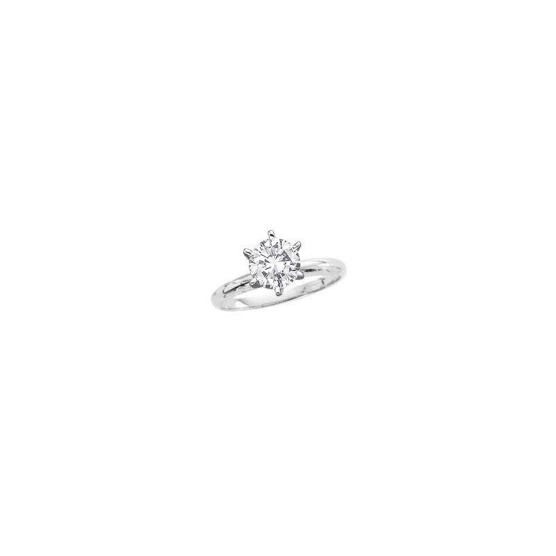 Murphy Pitard Signature Collection 1 1/2 Carat Diamond Solitaire Engagement Ring