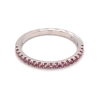 MPJ Exclusive Pink Tourmaline Stackable Band