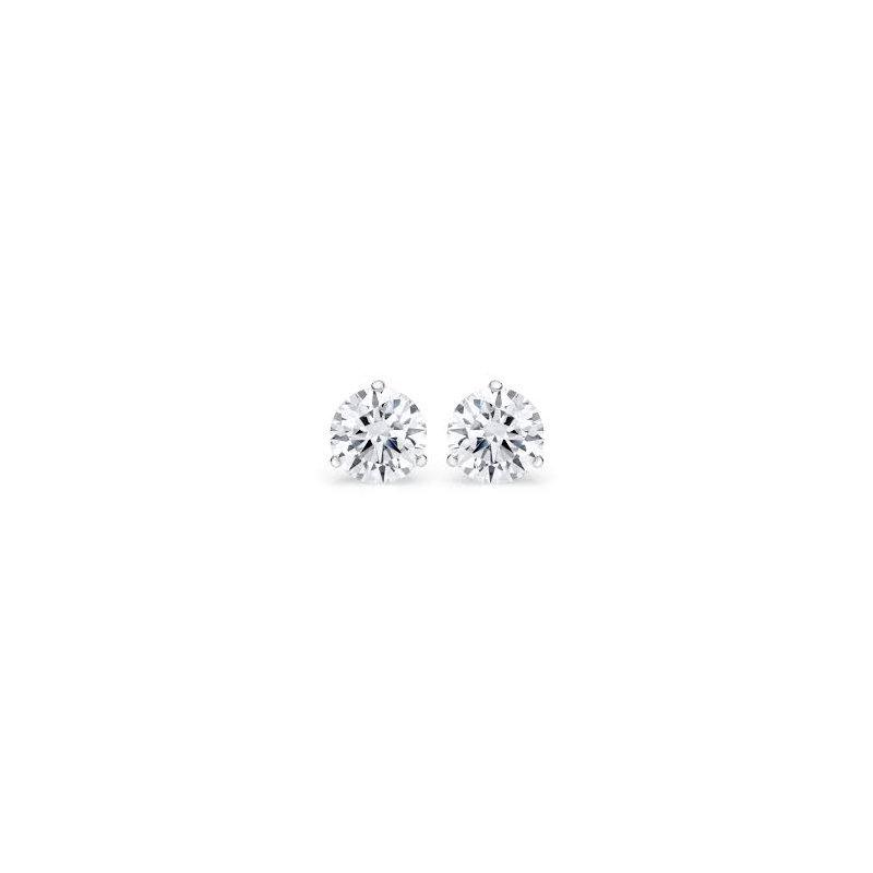 Murphy Pitard Signature Collection .60 Carat Diamond Stud Earrings