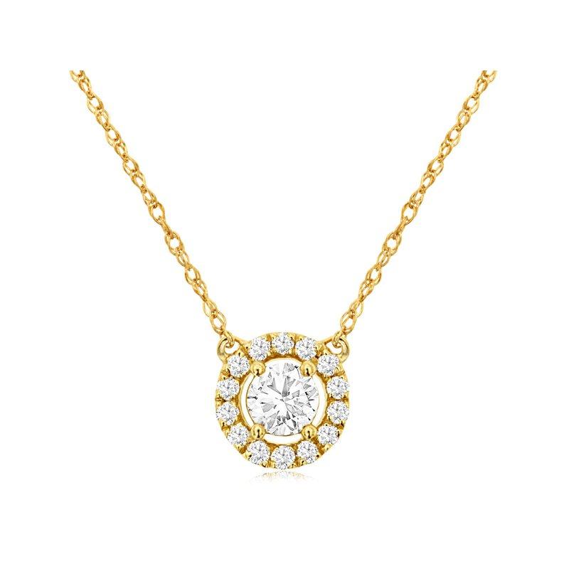 Murphy Pitard Signature Collection Diamond 1/3 Carats Halo Neckacle