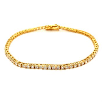 Diamond 3 Carat Tennis Bracelet