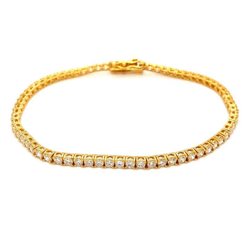 Murphy Pitard Signature Collection Diamond 3 Carat Tennis Bracelet