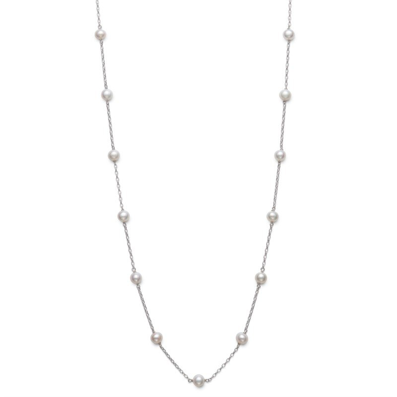 Murphy Pitard Signature Collection Pearl Fashion Station Necklace