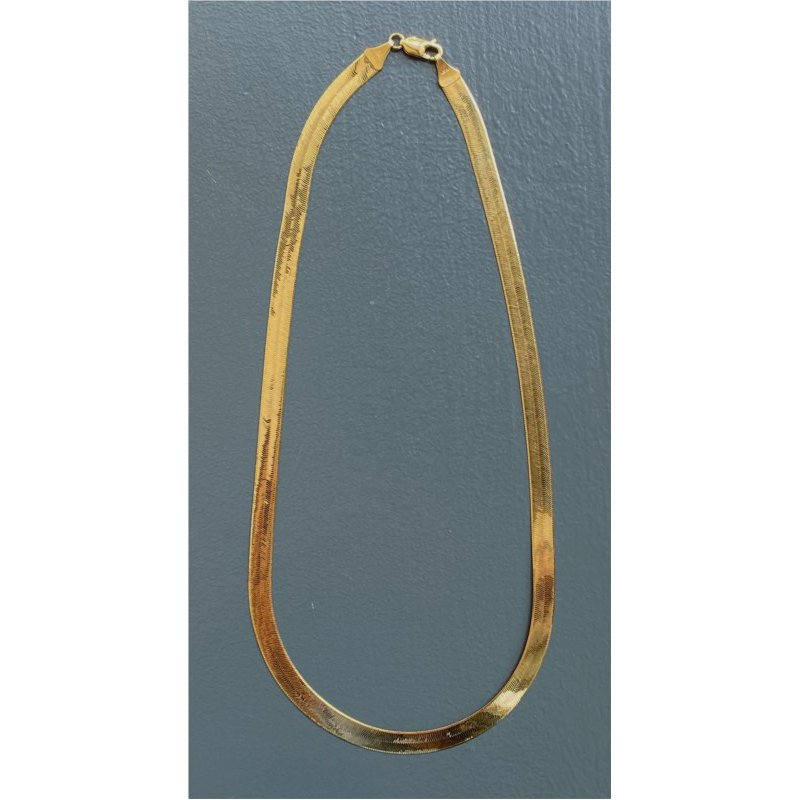 Murphy Pitard Estate Collection Herringbone 20 Inch Chain