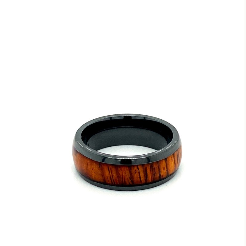 Lashbrook Zirconium Hardwood Band