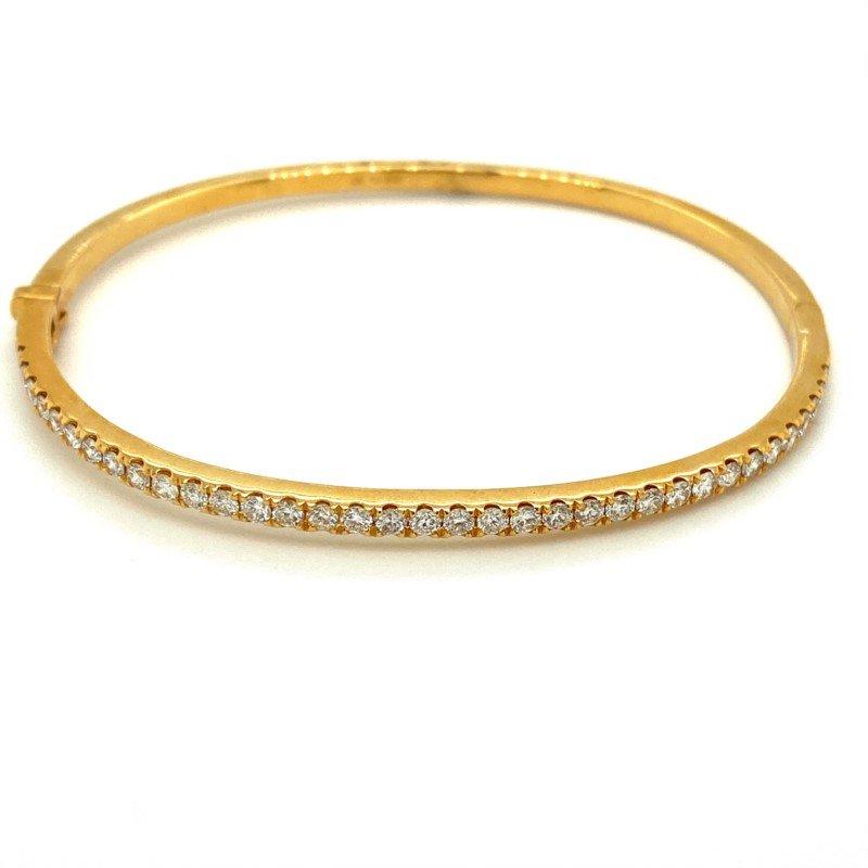 Murphy Pitard Signature Collection Diamond Bangle Bracelet