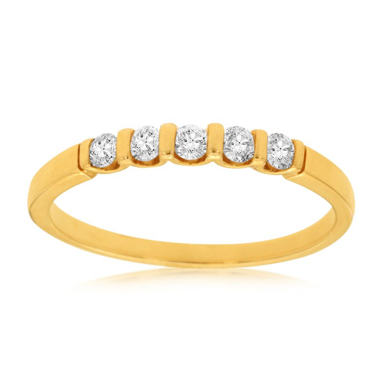 Murphy Pitard Signature Collection Diamond 1/4 Carats Channel Set Band