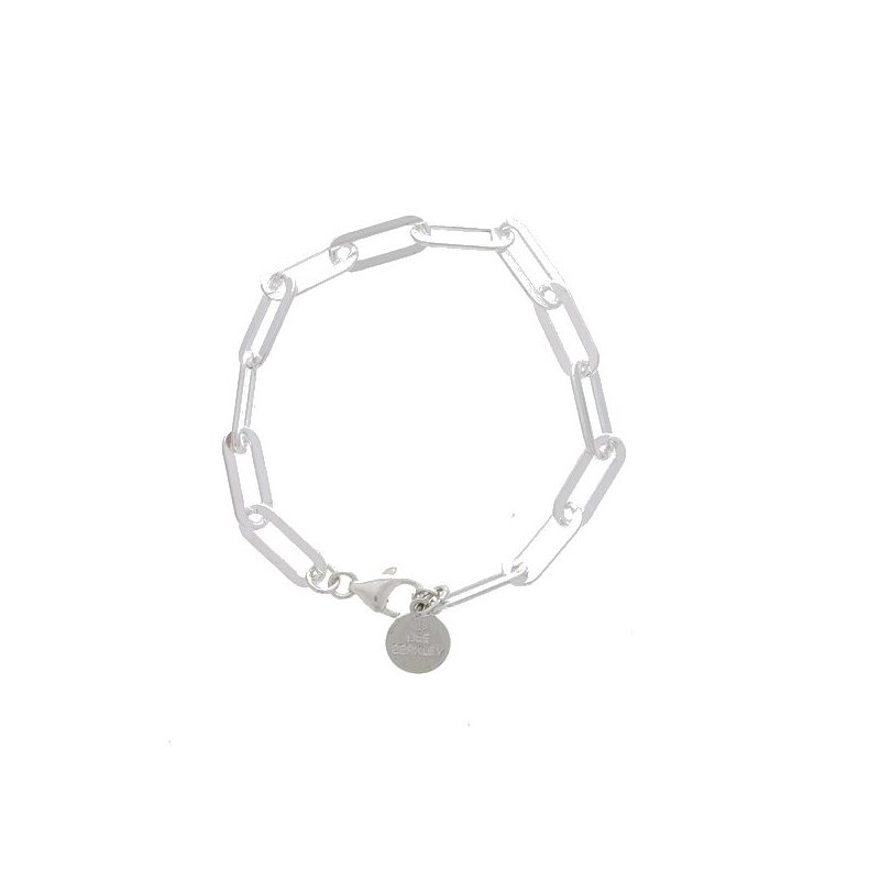 Dee Berkley Medium Sterling Silver Paperclip Bracelet