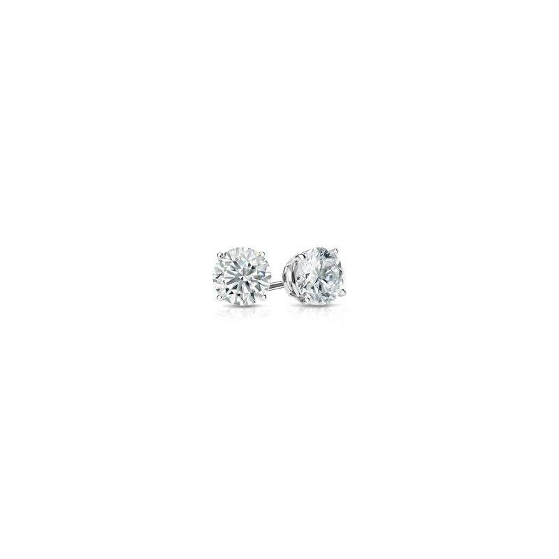 Murphy Pitard Signature Collection Traditional Set Diamond 1/2 Carats Stud Earrings