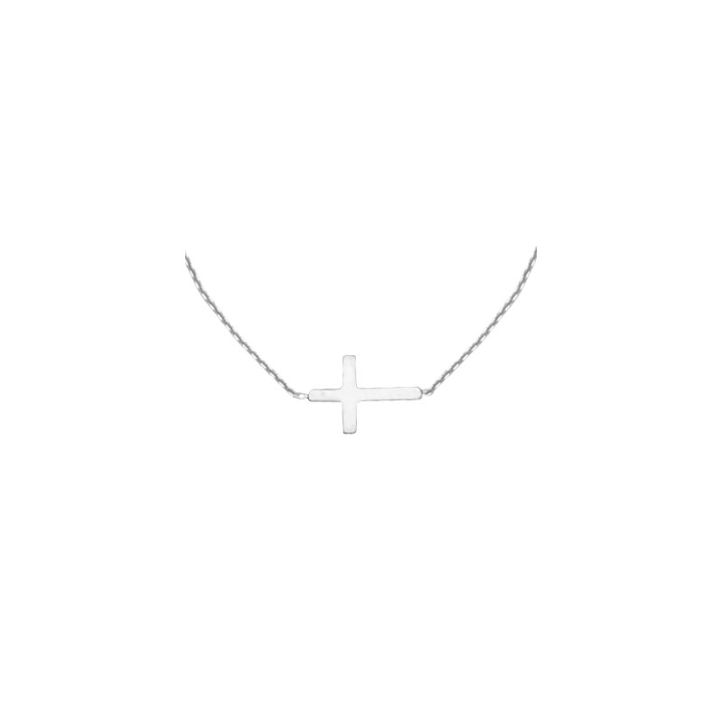 Murphy Pitard Signature Collection East2West Mini Cross Necklace