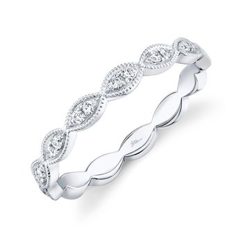 Kate Collection Diamond Stackable Band