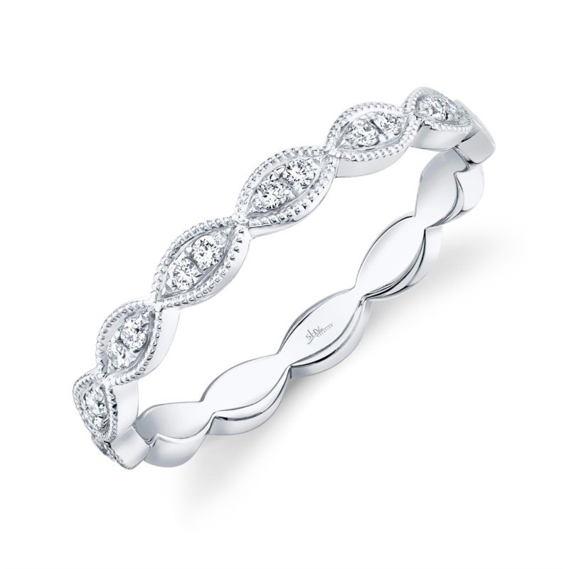 Shy Creation Kate Collection Diamond Stackable Band
