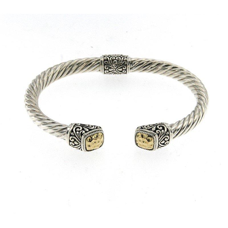 Samuel B. Twisted Cable Bangle Bracelet