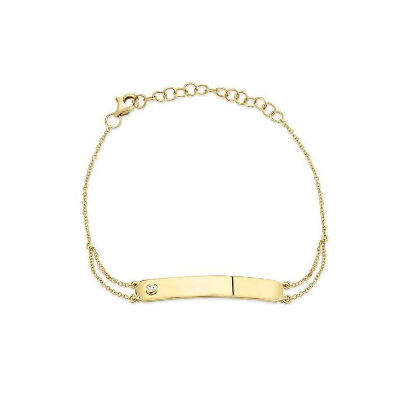 Shy Creation Diamond Bar Bracelet