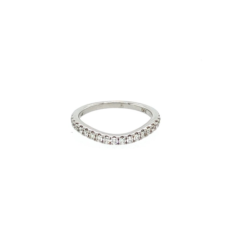Murphy Pitard Signature Collection Contoured Diamond Band