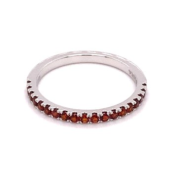 MPJ Exclusive Red Garnet Stackable Band