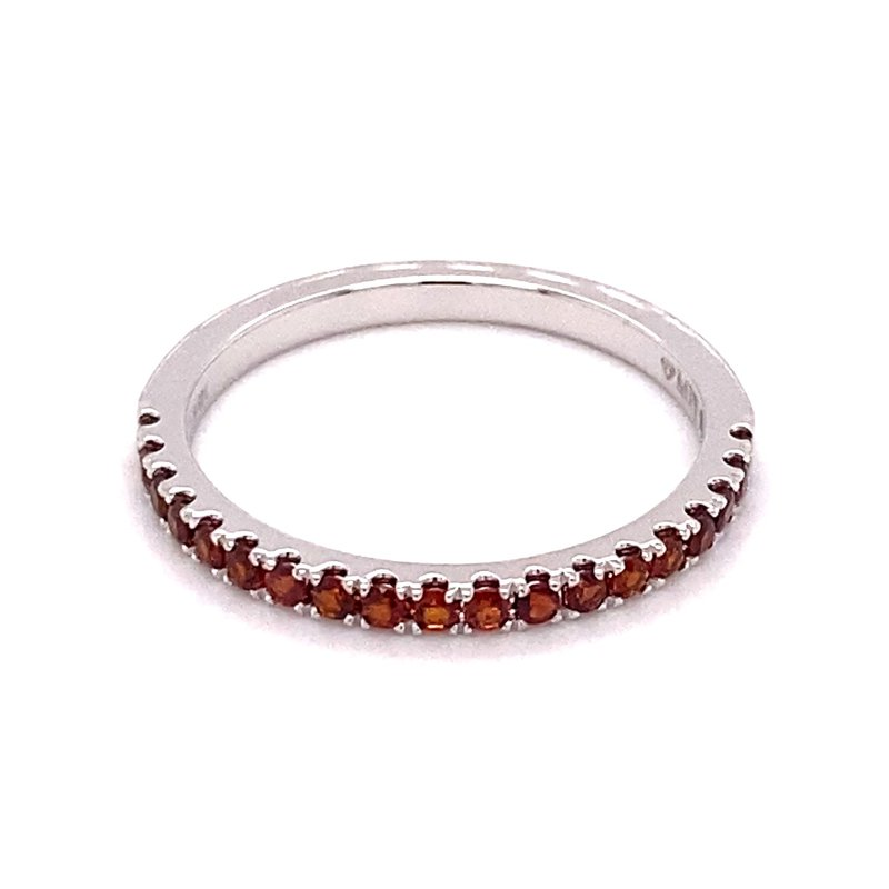 Murphy Pitard Signature Collection MPJ Exclusive Red Garnet Stackable Band
