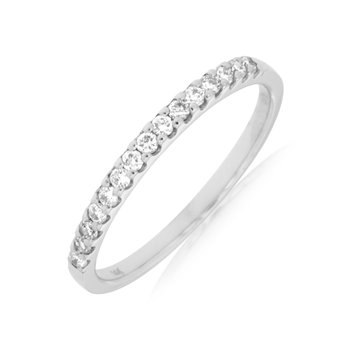 Diamond 1/4 Carats Anniversary Band