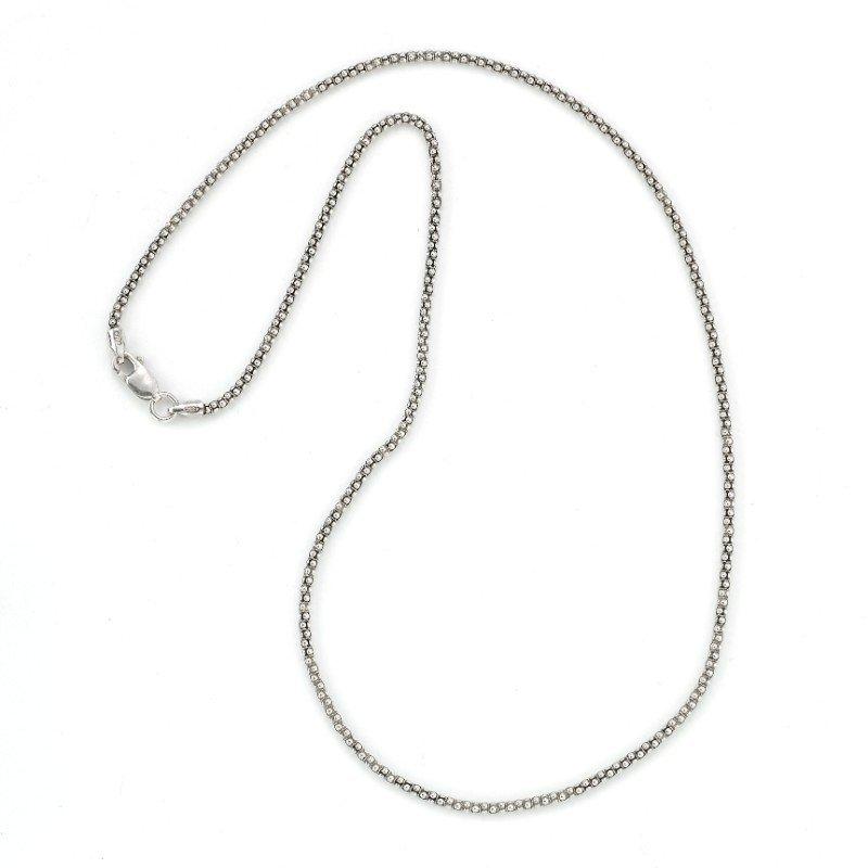 Samuel B. Silver 18 Inch Pop Corn Chain
