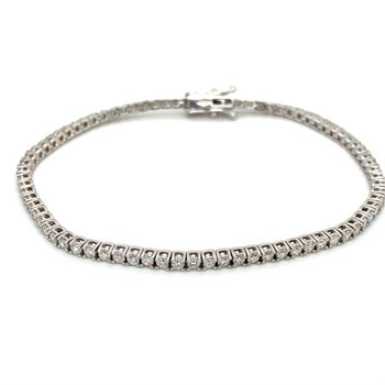 Diamond 2 Carat Tennis Bracelet