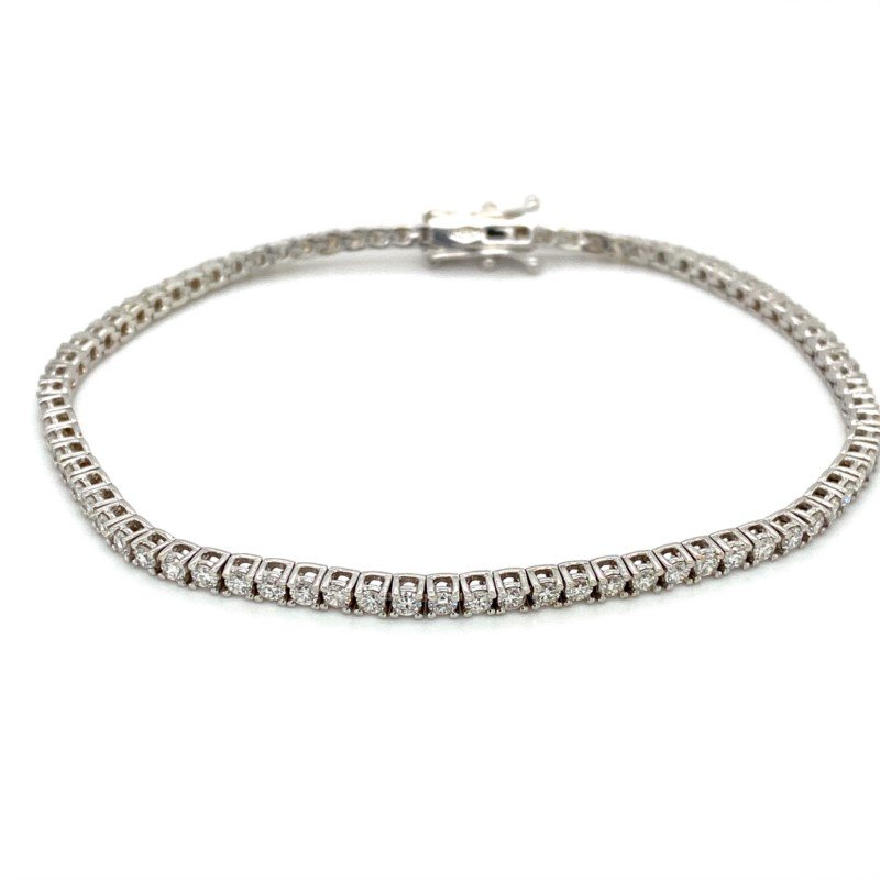 Murphy Pitard Signature Collection Diamond 2 Carat Tennis Bracelet