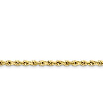 Yellow IP Stainless Steel Rope Chain