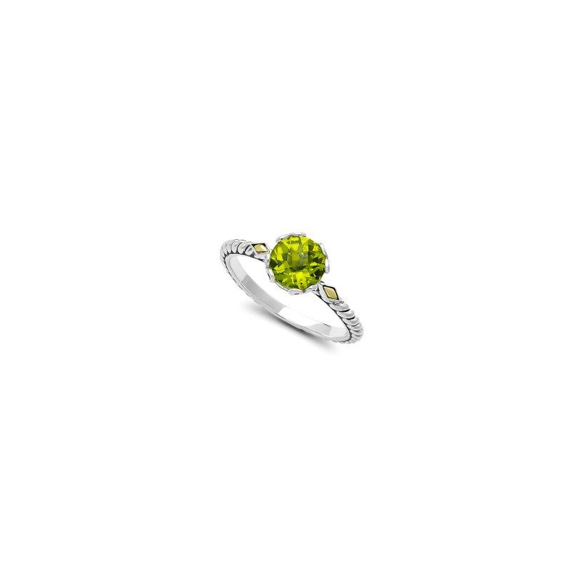 Samuel B. Peridot Birthstone Ring