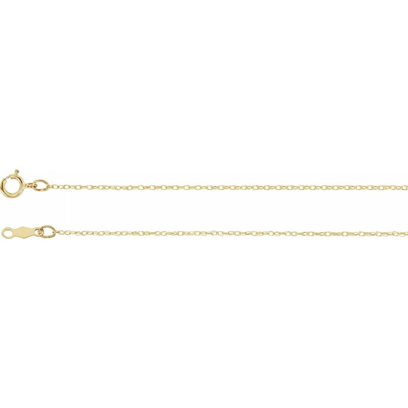 Murphy Pitard Signature Collection Rope .75 Millimeter Chain