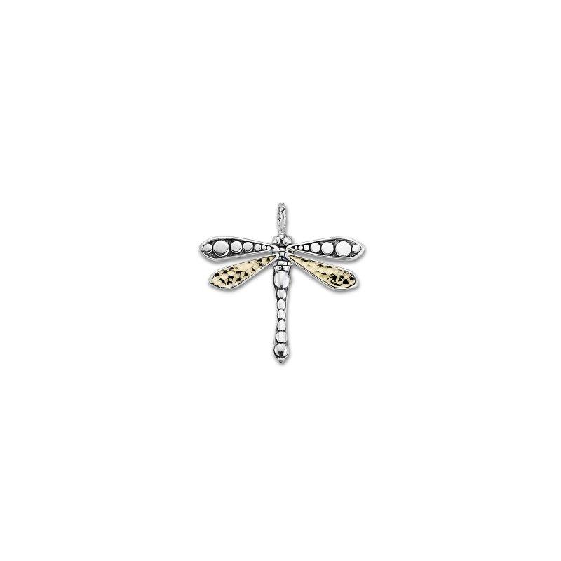Samuel B. Silver Dragonfly Pendant