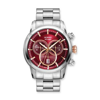 Murphy Pitard Stainless Steel 43 Millimeter Chronograph Watch