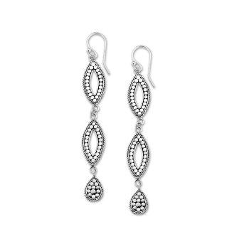 Dangle Dot Drop Earrings