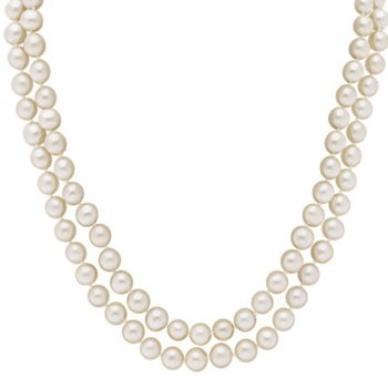 Endless Freshwater Pearl 7-8 Millimeter Strand Necklace