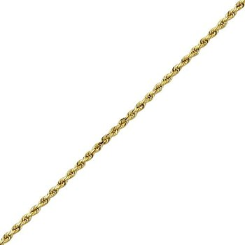 Diamond Cut 20 Inch Rope Chain