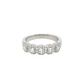 Diamond Fashion Halo Band