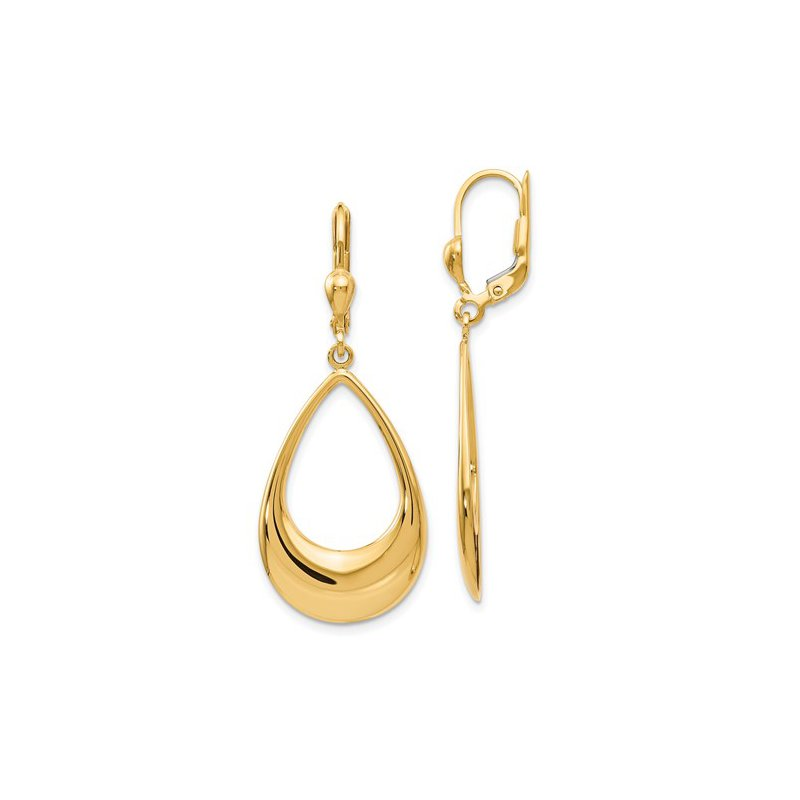 Murphy Pitard Signature Collection Teardrop Dangle Earrings