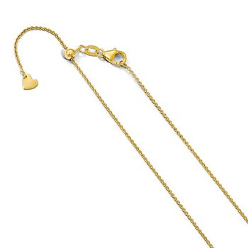 Adjustable Round Cable 1.1 Millimeter Chain