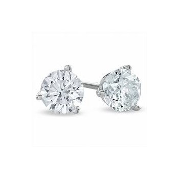 Martini Set Diamond 1/10 Carats Stud Earrings