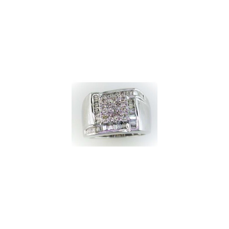 Murphy Pitard Signature Collection Channel Diamond Ring