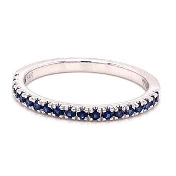 MPJ Exclusive Sapphire Stackable Band