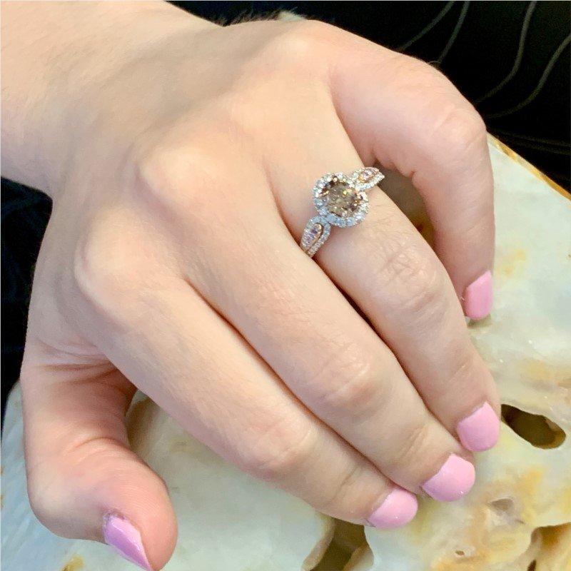 Signature Estate Light Brown Diamond Ring